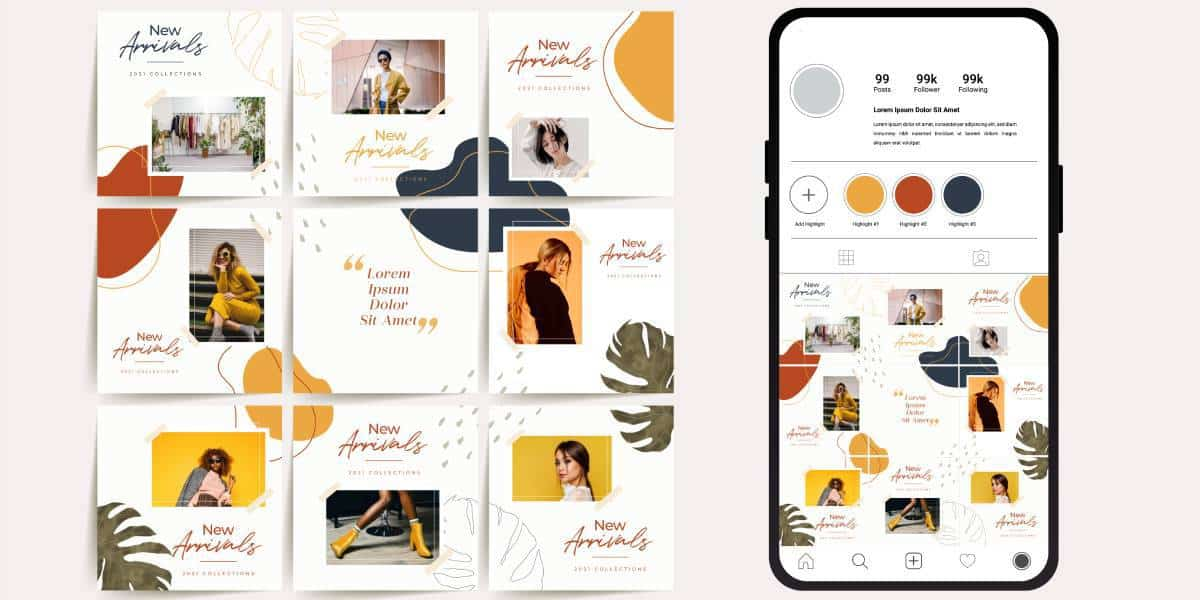Best Instagram Grid Ideas To Level Up Your Instagram Feed Profile - One Search Pro Digital Marketing Agency